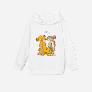 Reserved - Mikina s kapucňou The Lion King - Krémová