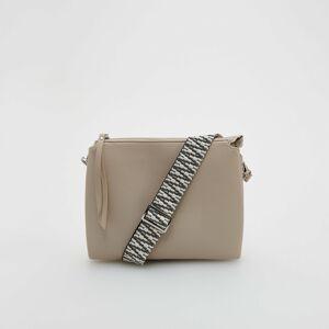 Reserved - Ladies` handbag - Krémová