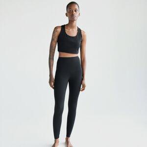 Reserved - Ladies` leggings - Čierna