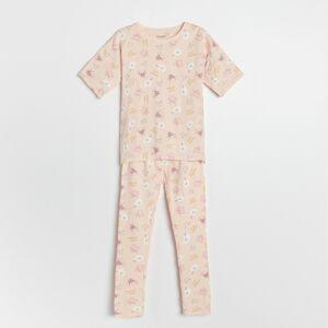 Reserved - Dvojdielne vzorované pyžamo - Ružová