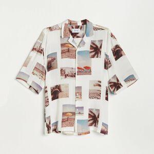 Reserved - Vzorovaná košeľa - Viacfarebná