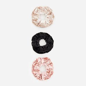 Reserved - Súprava 3 gumičiek do vlasov - Viacfarebná