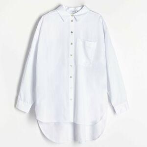 Reserved - Košeľa z materiálu Tencel™ - Krémová