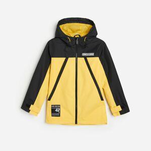 Reserved - Bunda s kapucňou - Žltá