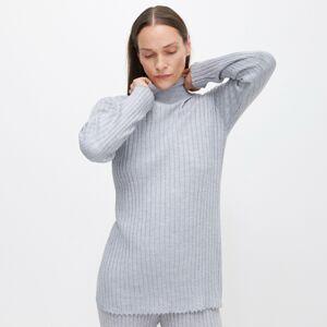 Reserved - Dámsky sveter - Svetlošedá