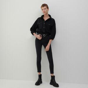 Reserved - Ladies` jeans trousers - Šedá
