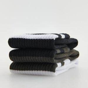Reserved - Súprava 3 párov ponožiek - Biela