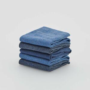 Reserved - Ponožky, 5-Balenie - Modrá
