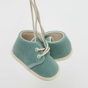 Reserved - Babies` ankle boots - Tyrkysová