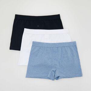 Reserved - Men`s boxer shorts - Tmavomodrá