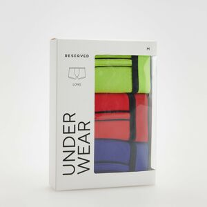 Reserved - 3 pack classic fit boxers - Zelená