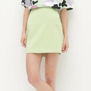 Reserved - Ladies` skirt - Zelená