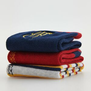 Reserved - Súprava 3 párov ponožiek Harry Potter - Bordový