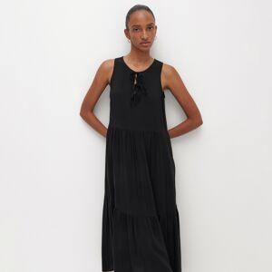 Reserved - Oversize šaty - Čierna