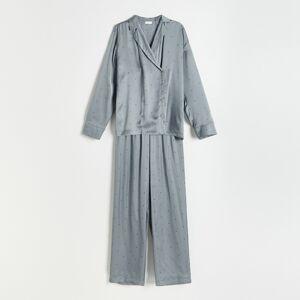 Reserved - Ladies` pyjama - Šedá