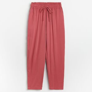 Reserved - Ladies` trousers - Bordový