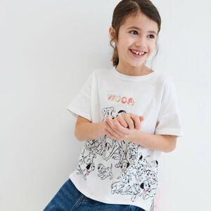 Reserved - Tričko s potlačou 101 Dalmatians - Krémová