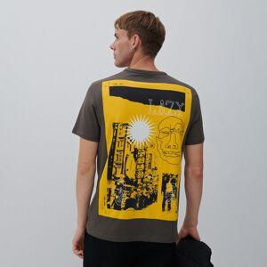 Reserved - Tričko s potlačou na chrbte - Čierna