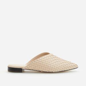 Reserved - Topánky mule - Biela