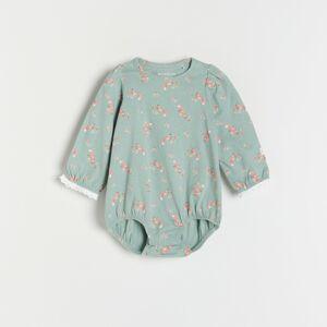Reserved - Babies` body suit - Tyrkysová