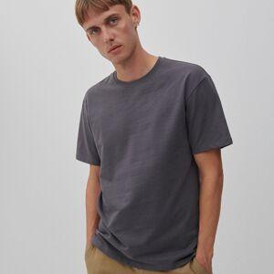 Reserved - Basic bavlnené tričko - Modrá
