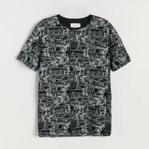Reserved - Tričko s obrázkom - Čierna