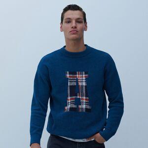 Reserved - Men`s sweater - Tyrkysová