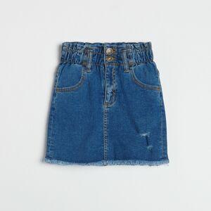 Reserved - Džínsová sukňa - Modrá