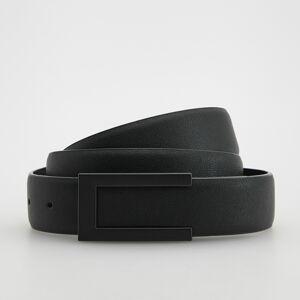 Reserved - Opasok s ozdobnou prackou - Čierna