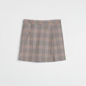 Reserved - Kockovaná sukňa - Ružová