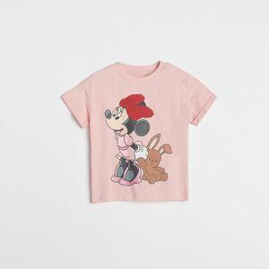 Reserved - Girls` t-shirt - Ružová