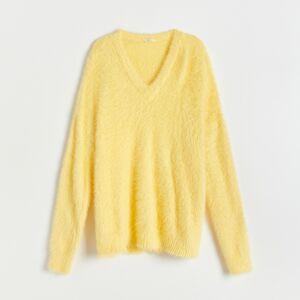 Reserved - Men`s sweater - Žltá