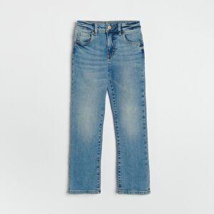 Reserved - Široké džínsy - Modrá