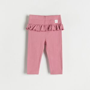 Reserved - Babies` trousers - Purpurová
