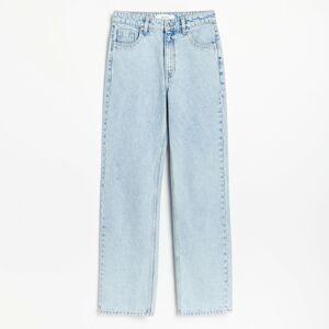 Reserved - Dámske jeans nohavice - Modrá