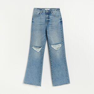 Reserved - Straight džínsy - Modrá