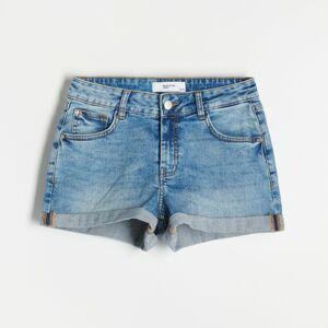 Reserved - Denimové šortky - Modrá