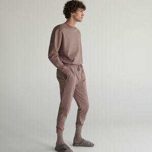 Reserved - Pyžamové nohavice - Hnědá