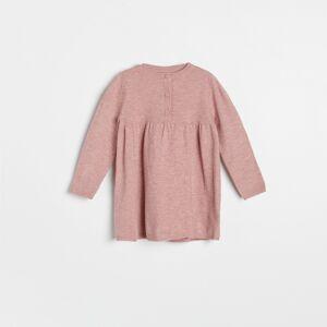 Reserved - Úpletové šaty - Purpurová