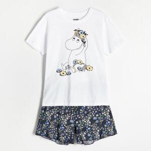 Reserved - Dvojdielne pyžamo Minions - Krémová