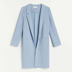 Reserved - Úpletový kabát - Modrá
