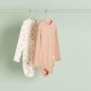 Reserved - Babies` body suit multi - Krémová