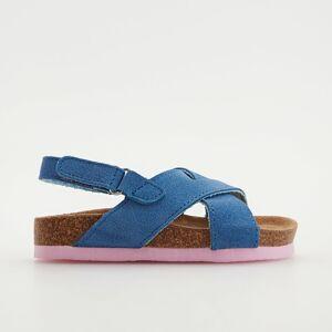 Reserved - Kožené sandále - Purpurová