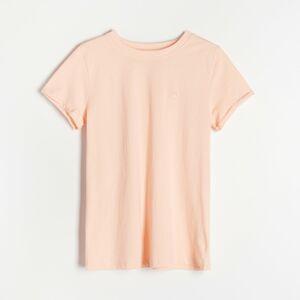 Reserved - Bavlnené tričko - Oranžová