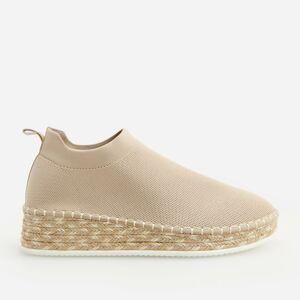 Reserved - Ladies` sneakers - Krémová