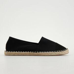 Reserved - Ladies` loafer shoes - Čierna