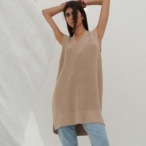 Reserved - Ladies` sweater - Béžová