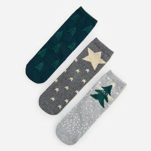 Reserved - Ladies` socks - Svetlošedá