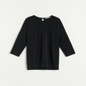 Reserved - Úpletové tričko - Čierna