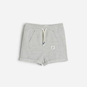 Reserved - Babies` shorts - Svetlošedá